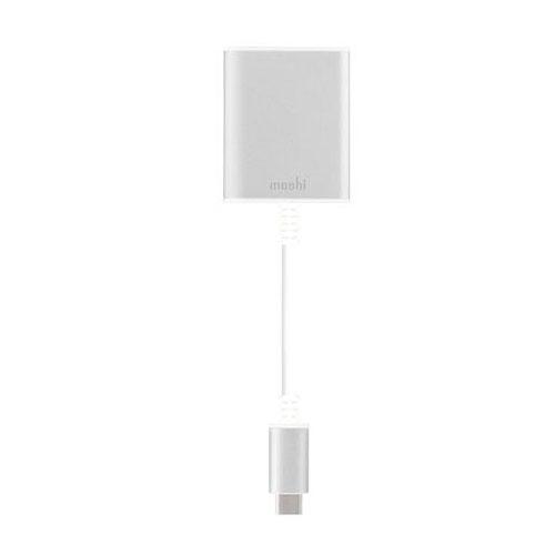 Переходник Moshi USB-C to HDMI серебристыйКабели Type-C и другие<br>Moshi USB-C to HDMI обеспечивает по-настоящему высокое качество!<br><br>Цвет товара: Серебристый<br>Материал: Алюминий