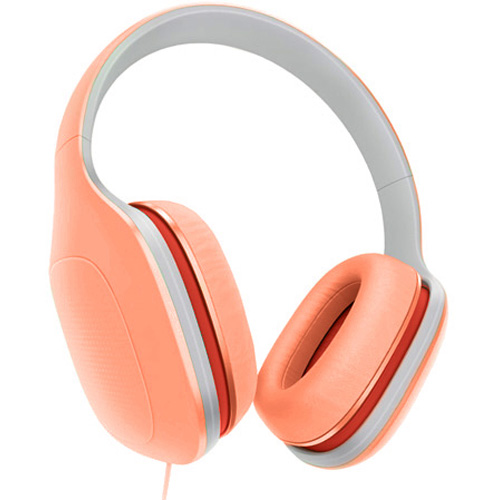 Наушники Xiaomi Mi Headphones Light Edition оранжевыеПолноразмерные наушники<br>Наушники Xiaomi Mi Headphones Light Edition приятные на ощупь и слух, они станут неотъемлемой частью вашей жизни.<br><br>Цвет товара: Оранжевый<br>Материал: Пластик, текстиль