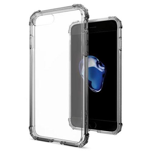 Чехол Spigen Crystal Shell для iPhone 7 и 8 Plus дымчатый кристалл (SGP-043CS20500)Чехлы для iPhone 7 Plus<br>Чехол Spigen для iPhone 7 Plus Crystal Shell дымно-кристальный (043CS20500)<br><br>Цвет товара: Серый<br>Материал: Термопластичный полиуретан TPU