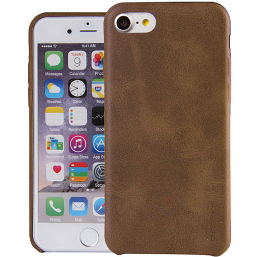 Чехол Uniq Outfitter (vintage) для iPhone 7/ iPhone 8 коричневыйЧехлы для iPhone 7<br>Uniq Outfitter отлично защищает заднюю панель и боковые грани.<br><br>Цвет товара: Коричневый<br>Материал: Искусственная кожа, полиуретан