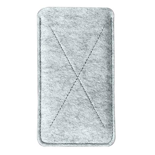 Чехол Handwers Cross для iPhone 6/6s/7 светлый меланжЧехлы для iPhone 7<br>Чехол Handwers Cross для iPhone 6/6s Светлый меланж<br><br>Цвет товара: Серый<br>Материал: Войлок