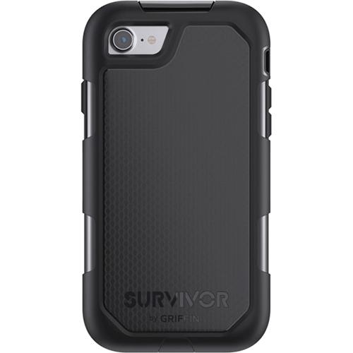 Чехол Griffin Survivor Summit для iPhone 7 чёрныйЧехлы для iPhone 7<br>Соответствует высоким защитным стандартам!<br><br>Цвет товара: Чёрный<br>Материал: Термопластичный эластомер высокой твердости, взрывоустойчивый поликарбонат, силикон