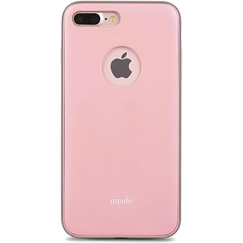 Чехол Moshi iGlaze для iPhone 7 Plus (Айфон 7 Плюс) розовыйЧехлы для iPhone 7 Plus<br>Чехол Moshi iGlaze для iPhone 7 Plus пластик розовый<br><br>Цвет товара: Розовый<br>Материал: Пластик