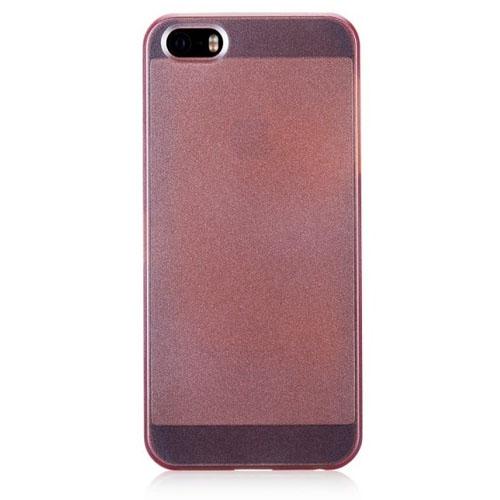 Чехол Momax Ultra Thin Pearl для iPhone 5/5S/SE оранжевыйЧехлы для iPhone 5s/SE<br>Чехол Momax Ultra Thin Pearl для iPhone 5s/5 Оранжевый<br><br>Цвет товара: Оранжевый<br>Материал: Пластик
