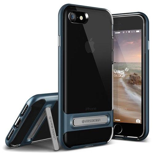 Чехол Verus Crystal Bumper для iPhone 7, iPhone 8 (Айфон 7 или 8) синий (VRIP7-CRBBB)Чехлы для iPhone 7<br>Чехол Verus для iPhone 7 Crystal Bumper, стальной голубой (904601)<br><br>Цвет товара: Синий<br>Материал: Поликарбонат, полиуретан
