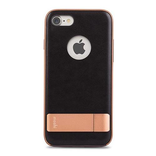 Чехол Moshi Kameleon Kickstand Case для iPhone 7, iPhone 8 чёрный/золотистыйЧехлы для iPhone 7<br>Moshi Kameleon Kickstand Case - элегантная защита для iPhone 7!<br><br>Цвет товара: Чёрный<br>Материал: Поликарбонат, искусственная кожа, алюминий