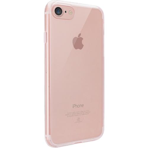 Чехол Ozaki O!coat Crystal+ для iPhone 7 (Айфон 7) прозрачный розовыйЧехлы для iPhone 7<br>Чехол Ozaki O!coat Crystal+ для iPhone 7 (Айфон 7) прозрачный розовый<br><br>Цвет товара: Розовый<br>Материал: Поликарбонат, полиуретан