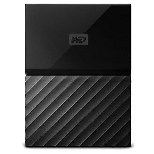 Внешний жесткий диск Western Digital My Passport New 2017 2Тб чёрныйВнешние накопители<br>Western Digital My Passport помещается в ладони и вы сможете взять все ваши файлы, куда бы вы ни отправились.<br><br>Цвет товара: Чёрный<br>Материал: Пластик, металл<br>Модификация: 2 Тб