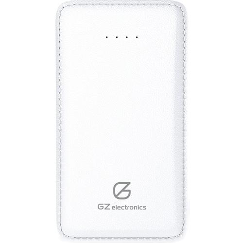 Внешний аккумулятор GZ Electronics 5000 мАч (GZ-B5K) белыйДополнительные и внешние аккумуляторы<br>Внешний аккумулятор GZ-B5K 5000Mah белий<br><br>Цвет: Белый<br>Материал: Пластик, эко-кожа