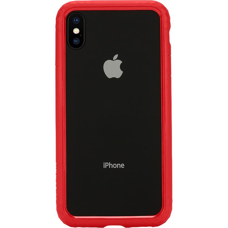 Чехол Incase Frame Case для iPhone X красныйЧехлы для iPhone X<br>Прочный текстурный чехол-бампер с амортизирующими свойствами Incase Frame Case отлично защищает ваш смартфон как от мелких царапин и сколов, так и...<br><br>Цвет товара: Красный<br>Материал: Термопластичный полиуретан, поликарбонат