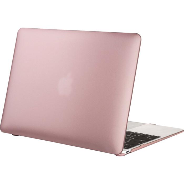 Чехол Crystal Case для MacBook 12 Retina розовое золотоЧехлы для MacBook 12 Retina<br>Чехол Crystal Case — ультратонкая, лёгкая, полупрозрачная защита для вашего любимого лэптопа.<br><br>Цвет товара: Розовое золото<br>Материал: Поликарбонат