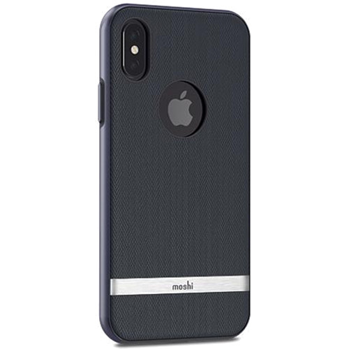 Чехол Moshi Vesta для iPhone X синийЧехлы для iPhone X<br>Moshi Vesta — запоминающийся, элегантный и надёжный матерчатый чехол!<br><br>Цвет товара: Синий<br>Материал: Текстиль (саржа), поликарбонат металлизированный