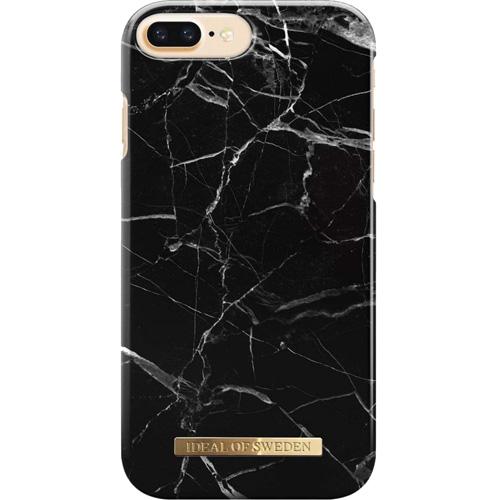 Чехол iDeal of Sweden Fashion Case для iPhone 8 Plus/7 Plus/6 Plus (Black Marble)Чехлы для iPhone 6/6s Plus<br>Чехол iDeal of Sweden Fashion Case станет истинным украшением самого лучшего смартфона!<br><br>Цвет: Чёрный<br>Материал: Пластик, замша