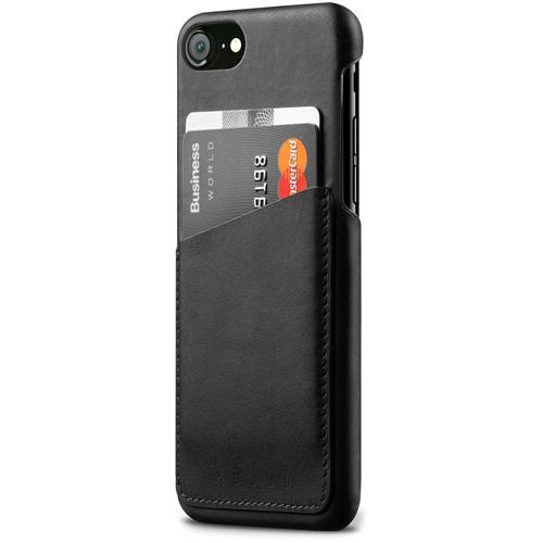 Чехол Mujjo Leather Wallet Case для iPhone 8/7 чёрныйЧехлы для iPhone 7<br>Mujjo Leather Wallet Case — это надёжность, элегантность и минимализм в одном аксессуаре!<br><br>Цвет товара: Чёрный<br>Материал: Натуральная кожа, замша (подкладка), поликарбонат