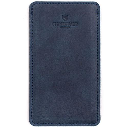 Кожаный чехол Stoneguard для iPhone 6/6s/7 Plus Ocean (511)Чехлы для iPhone 7 Plus<br>Stoneguard — выбор тех, кто желает всегда идти в ногу со временем!<br><br>Цвет товара: Синий<br>Материал: Натуральная кожа, войлок