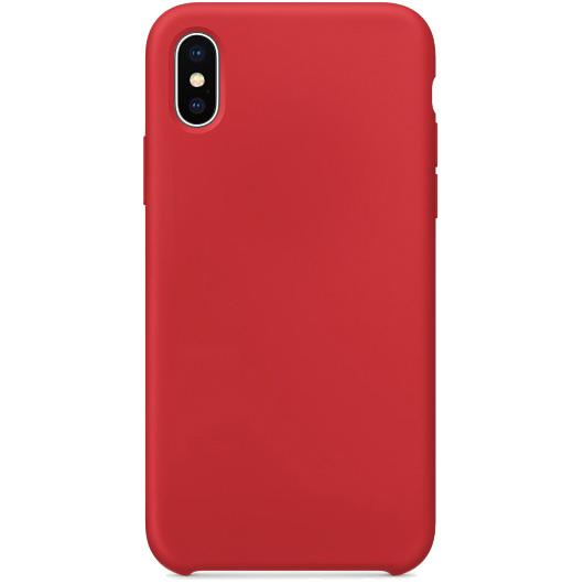 Силиконовый чехол YablukCase для iPhone X красныйЧехлы для iPhone X<br>Лёгкий и практичный YablukCase — идеальная пара для вашего iPhone X!<br><br>Цвет товара: Красный<br>Материал: Силикон