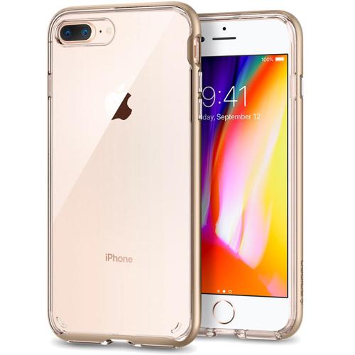 Чехол Spigen Neo Hybrid Crystal 2 для iPhone 8 Plus шампань (055CS22371)Чехлы для iPhone 8 Plus<br>Используя прочный чехол Spigen Neo Hybrid Crystal 2 вы будете уверены, что ваш iPhone 8 Plus под надёжной защитой превосходного чехла.<br><br>Цвет товара: Золотой<br>Материал: Термопластичный полиуретан, поликарбонат