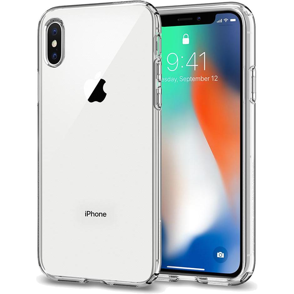 Чехол Spigen Liquid Crystal для iPhone X кристально-прозрачный (057CS22118)Чехлы для iPhone X<br>Spigen Liquid Crystal для iPhone X - сделан для тех, кто предпочитает классику и минимализм, а не кратковременные модные веяния.<br><br>Цвет товара: Прозрачный<br>Материал: Термопластичный полиуретан