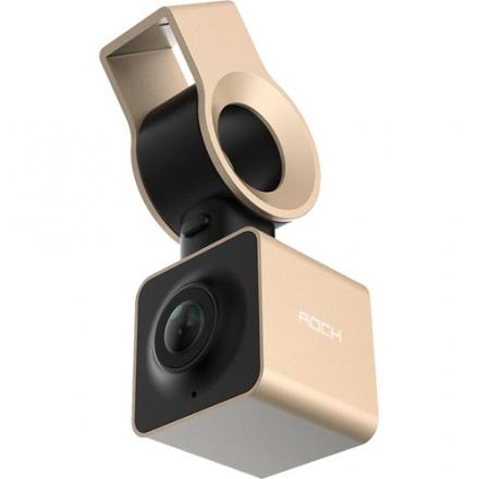 Видеорегистратор Rock Autobot Smart Dashcam золотойВидеорегистраторы<br>Видеорегистратор Rock Autobot Smart Dashcam - Champagne Gold<br><br>Цвет товара: Золотой<br>Материал: Металл, пластик