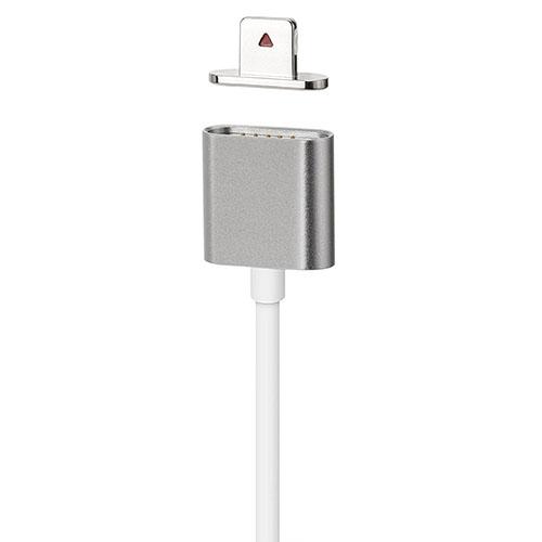 Кабель Moizen Magnetic Charging Cable (1.2 м) серый космос (SNAP-C1A-1-SG)Провода и кабели<br>Кабель Moizen для iPhone SNAP-C1A-1-SG темно-серый<br><br>Цвет товара: Серый космос