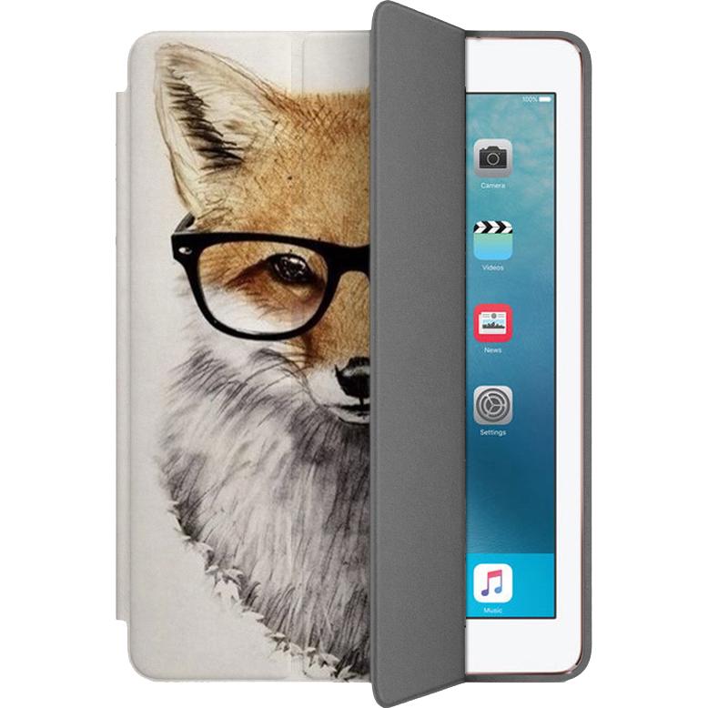 Чехол Muse Smart Case для iPad Pro (10.5) ЛисаЧехлы для iPad Pro 10.5<br>Чехлы Muse Smart Case — это индивидуальность, насыщенность красок, оригинальные принты и надёжная защита от повреждений.<br><br>Цвет: Белый<br>Материал: Поликарбонат, полиуретановая кожа