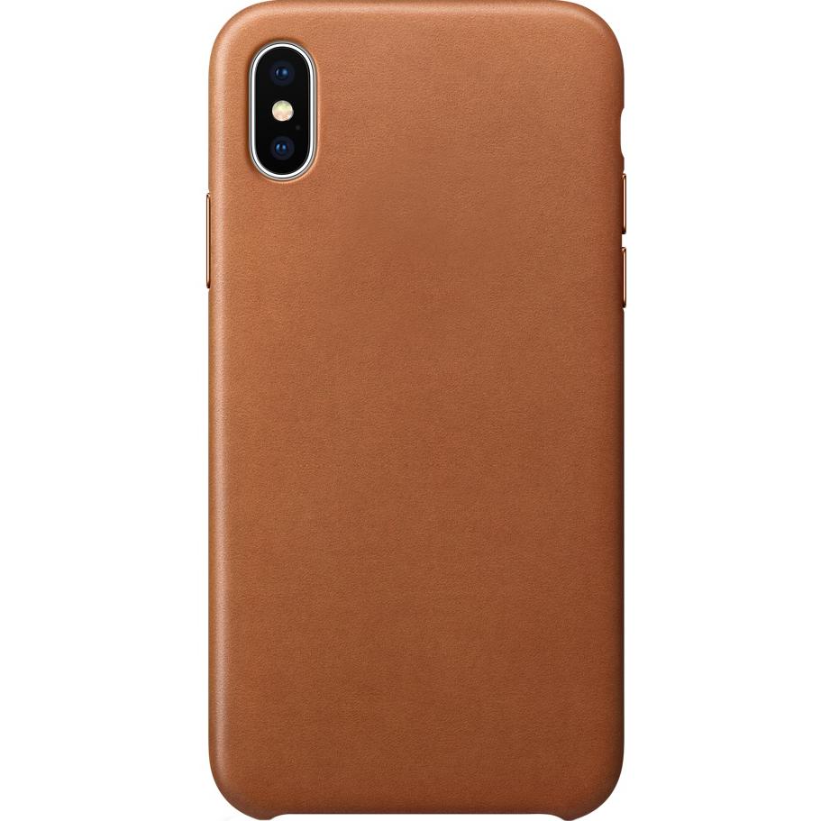 Кожаный чехол YablukCase для iPhone X коричневыйЧехлы для iPhone X<br>Надёжный и легкий YablukCase — это лаконичный и стильный аксессуар для вашего iPhone!<br><br>Цвет товара: Коричневый<br>Материал: Экокожа, пластик