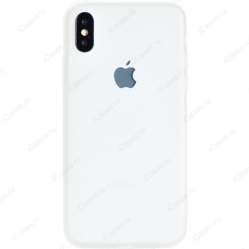 Чехол Gurdini Ultra Slim Silicone Case для iPhone X прозрачный матовыйЧехлы для iPhone X<br>Тонкий и невероятно легкий, словно перо, силиконовый чехол Gurdini Ultra Slim Silicone Case повторяет плавные контуры вашего iPhone Х.<br><br>Цвет товара: Прозрачный<br>Материал: Силикон