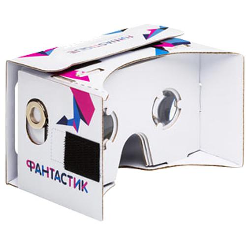 Очки виртуальной реальности Funtastique VR CardBoardОчки виртуальной реальности<br>3D очки Funtastique VR CardBoard<br><br>Цвет товара: Белый<br>Материал: Картон