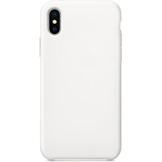 Силиконовый чехол YablukCase для iPhone X белыйЧехлы для iPhone X<br>Лёгкий и практичный YablukCase — идеальная пара для вашего iPhone X!<br><br>Цвет товара: Белый<br>Материал: Силикон