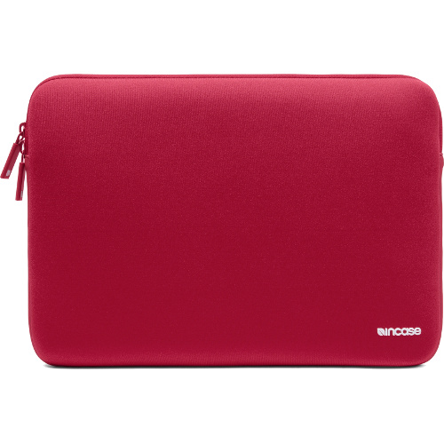 Чехол Incase Neoprene Classic Sleeve для MacBook 15 красныйЧехлы для MacBook Pro 15 Old<br>Компания Incase знает, как сохранить в целости и сохранности Ваш MacBook! Чехлы из серии Neoprene Classic Sleeve разрабатывались компанией Incase специально дл...<br><br>Цвет товара: Красный<br>Материал: Неопрен, флис