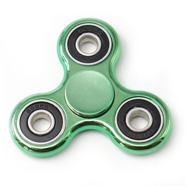Спиннер DODO Metallic Series зелёныйИгрушки-антистресс<br>DODO Metallic Series - спиннер для настоящих аристократов!<br><br>Цвет товара: Зелёный<br>Материал: Металл