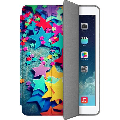 Чехол Muse Smart Case для iPad Air 2 (Айпад Эйр 2) ЗвёздыЧехлы для iPad Air<br>Чехол Muse Smart Case для iPad Air 2 Звёзды<br><br>Цвет товара: Разноцветный<br>Материал: Поликарбонат, полиуретановая кожа
