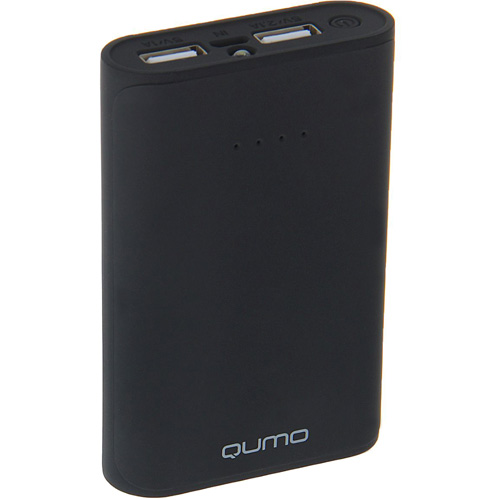 Портативный аккумулятор QUMO PowerAid 6600 мАч чёрныйВнешние аккумуляторы<br>QUMO PowerAid отличный спутник в походах, путешествиях и повседневной жизни!<br><br>Цвет товара: Чёрный<br>Материал: Пластик