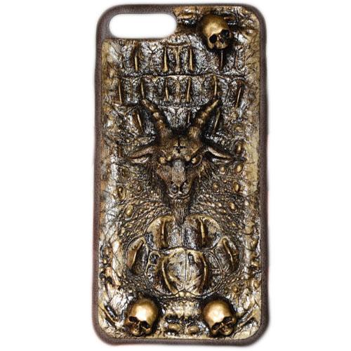 Чехол Evil Dead Козёл для iPhone 7 PlusЧехлы для iPhone 7/7 Plus<br>Чехлы Evil Dead никого не оставят равнодушным!<br><br>Цвет товара: Золотой