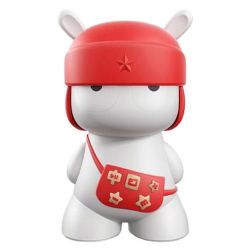 Портативная колонка Xiaomi Mi Rabbit Bunny Micro Speaker краснаяКолонки и акустика<br>Xiaomi Mi Rabbit Bunny Micro Speaker - оригинальная миниатюрная портативная колонка.<br><br>Цвет товара: Красный<br>Материал: Пластик