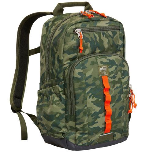 Рюкзак STM Trestle BackPack для MacBook 11-13 камуфлированныйРюкзаки<br>STM Trestle Green Camo BackPack stm-111-088M-36<br><br>Цвет товара: Зелёный<br>Материал: Cottna 320D