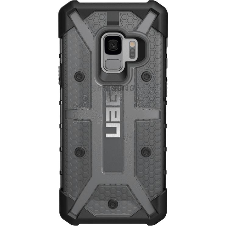 Чехол UAG Plasma Series Case для Samsung Galaxy S9 тёмно-серый ASHЧехлы для Samsung Galaxy S9/S9 Plus<br>В чехлах UAG Plasma Series вам будет доступна и беспроводная зарядка при максимальной защищённости!<br><br>Цвет: Серый<br>Материал: Поликарбонат, термопластичный полиуретан