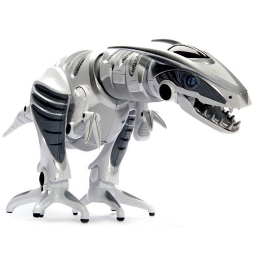 Робот динозавр WowWee Roboraptor XРоботы<br>Roboraptor X умеет ходить, издавать звуки, изучать пространство, реагировать на звуки и прикосновение.<br><br>Цвет товара: Белый