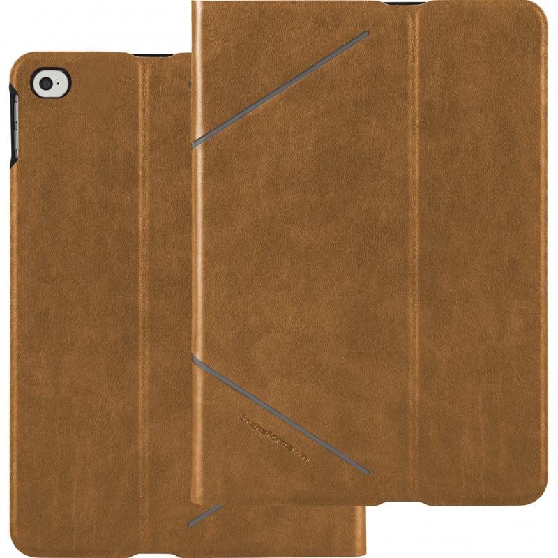 Чехол Uniq Transforma Heritage для iPad mini 4 коричневый (Camel)Чехлы для iPad mini 4<br>Uniq Transforma Heritage защищает iPad mini 4!<br><br>Цвет: Коричневый<br>Материал: Полиуретан