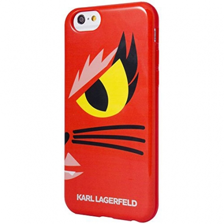 "Чехол Karl Lagerfeld Monster для iPhone 6/6s (4,7"") Красный"