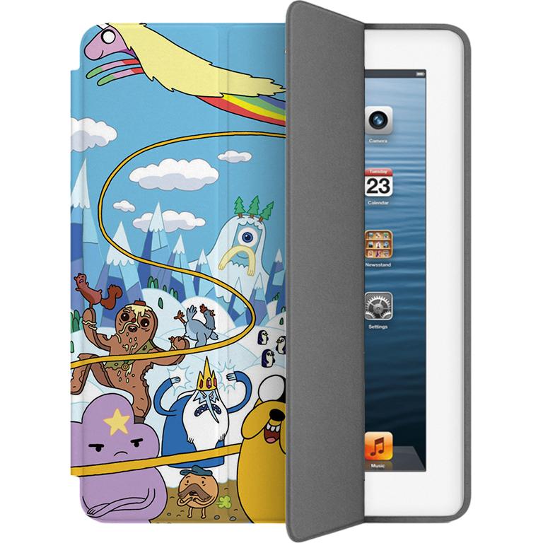 Чехол Muse Smart Case для iPad 2/3/4 Время ПриключенийЧехлы для iPad 1/2/3/4 (2010-2013)<br>Чехлы Muse — это индивидуальность, насыщенность красок, ультрасовременные принты и надёжность.<br><br>Цвет товара: Разноцветный<br>Материал: Поликарбонат, полиуретановая кожа