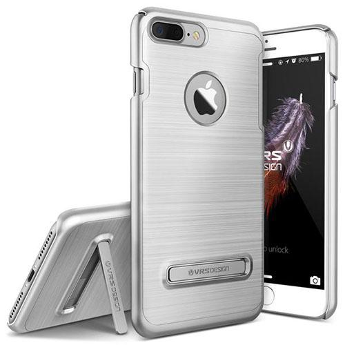 Чехол Verus Simpli Lite для iPhone 7 Plus (Айфон 7 Плюс) серебристый (VRIP7P-SPLSS)Чехлы для iPhone 7 Plus<br>Чехол Verus для iPhone 7 Plus Simpli Lite, серебристый (904656)<br><br>Цвет товара: Серебристый<br>Материал: Поликарбонат, полиуретан