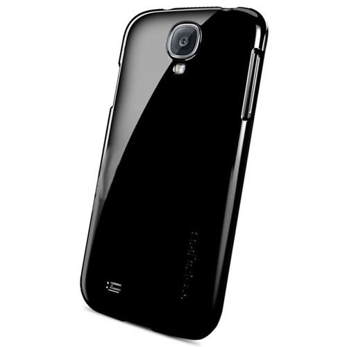 Чехол SGP Bounce для Samsung Galaxy S4 (SGP10196)Чехлы для Samsung Galaxy S4<br>Чехол SGP Bounce  для Samsung S4 черный<br><br>Цвет товара: Чёрный<br>Материал: Пластик
