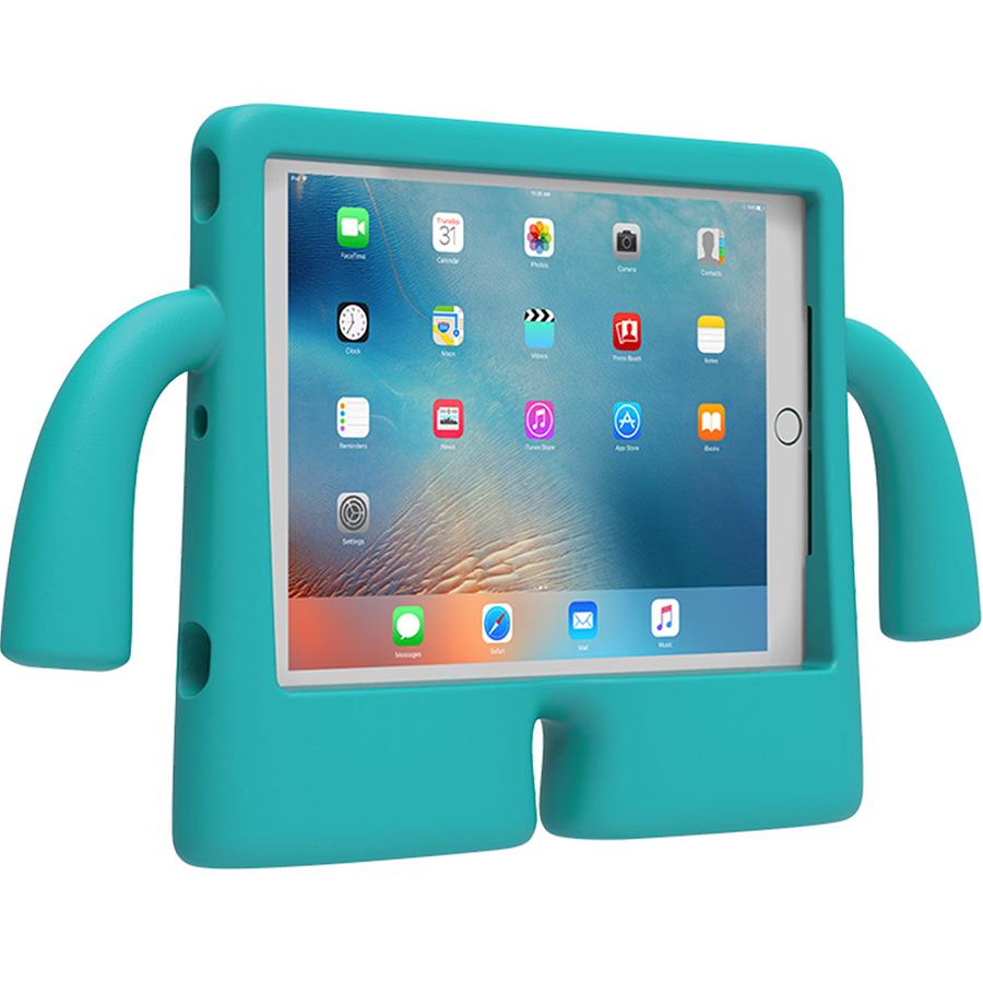 Чехол Speck iGuy для iPad (2017) / iPad Pro 9.7 / iPad Air 2 бирюзовыйЧехлы для iPad 9.7<br>Яркий и оригинальный!<br><br>Цвет: Бирюзовый<br>Материал: Полиуретан