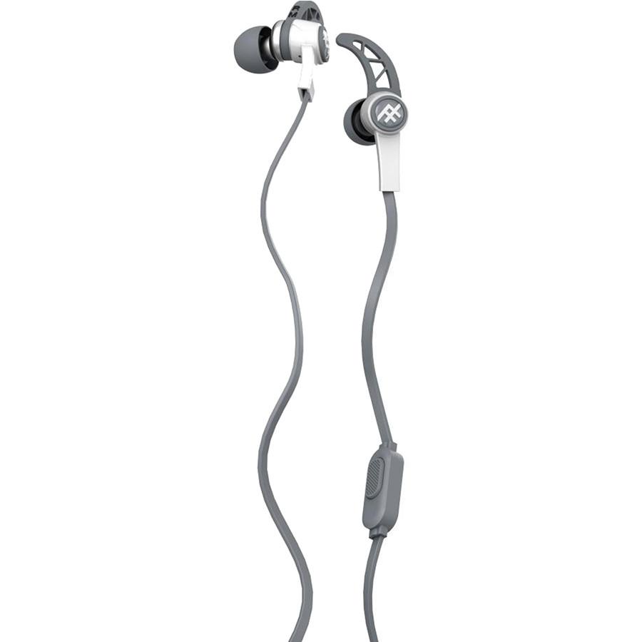 Наушники iFrogz Summit EarBuds белыеВнутриканальные наушники<br>Небольшие динамики наушников выдают отличного качества звук, глубокий и насыщенный от самых ярких высоких до бархатных басовых нот.<br><br>Цвет товара: Белый<br>Материал: Пластик, силикон