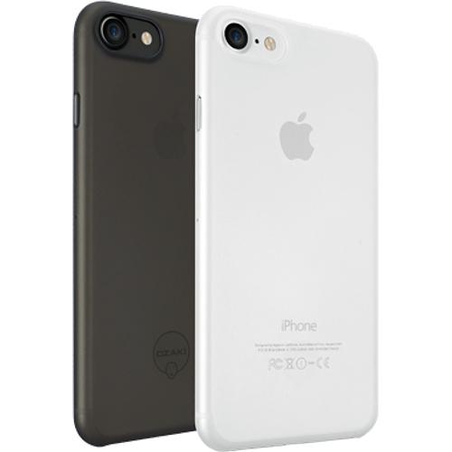 Набор чехлов Ozaki O!coat 0.3 Jelly 2 in 1 для iPhone 7 (Айфон 7) чёрный+прозрачныйЧехлы для iPhone 7<br>Набор чехлов Ozaki O!coat 0.3 Jelly 2 in 1 для iPhone 7 (Айфон 7) чёрный+прозрачный<br><br>Цвет товара: Разноцветный<br>Материал: Поликарбонат