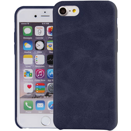 Чехол Uniq Outfitter (vintage) для iPhone 7 (Айфон 7) синийЧехлы для iPhone 7<br>Uniq Outfitter отлично защищает заднюю панель и боковые грани.<br><br>Цвет товара: Синий<br>Материал: Искусственная кожа, полиуретан