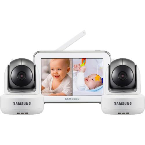 Видеоняня Samsung SEW-3043WPX2 (2 камеры)Системы видеонаблюдения и безопасности<br>Видеоняня Samsung SEW-3043WPX2 в комплекте которой 2 камеры — это ваш незаменимый помощник в присмотре и уходе за детьми.<br><br>Цвет товара: Белый<br>Материал: Пластик
