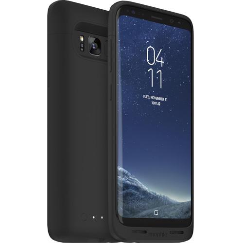 Чехол-аккумулятор Mophie Juice Pack на 2950 мАч для Samsung Galaxy S8 чёрныйЧехлы для Samsung Galaxy S8/S8 Plus<br>Mophie Juice Pack — это идеальный чехол для тех, чей день не всегда заканчивается после завершения рабочего дня!<br><br>Цвет товара: Чёрный<br>Материал: Поликарбонат, резина
