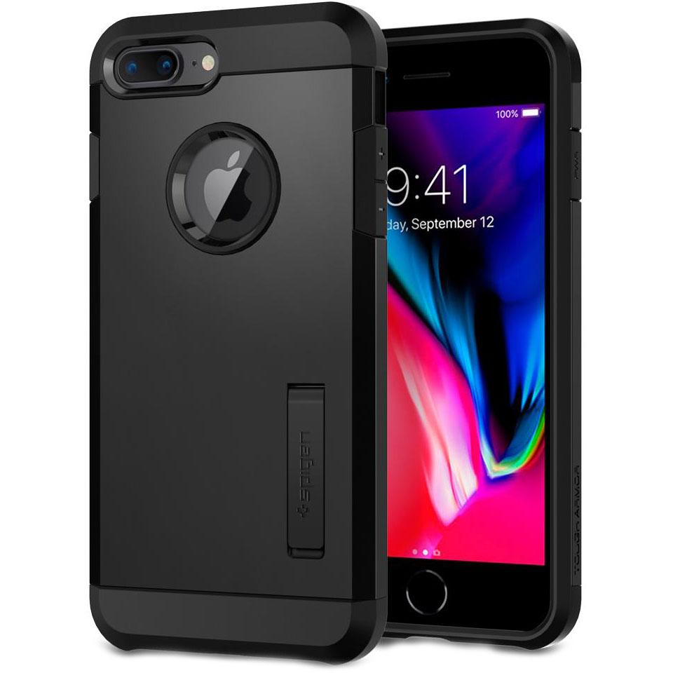 Чехол Spigen Tough Armor 2 для iPhone 8 Plus, iPhone 7 Plus чёрный (055CS22246)Чехлы для iPhone 7 Plus<br>Spigen Tough Armor 2 — самый надёжный и прочный чехол среди серии Armor.<br><br>Цвет товара: Чёрный<br>Материал: Поликарбонат, полиуретан